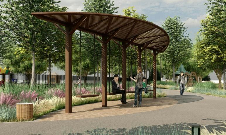 В скором будущем в Челябинске преобразится парк имени Пушкина. Там появится общественный ту