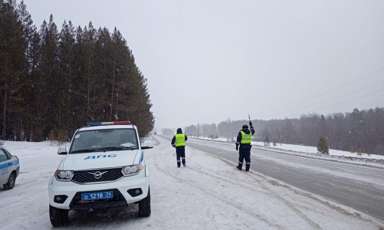 Во всех муниципальных районах Челябинской области сегодня, 26-го февраля, снято ограничение движе