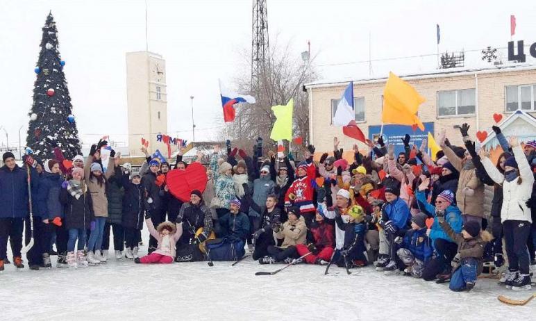 В минувшее воскресенье,14 февраля, на Центральный каток Магнитогорска (Челябинская область) пришл