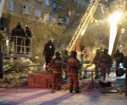 Сегодня, 31 декабря, в шесть часов утра в городе Магнитогорске Челябинской области, по предварите