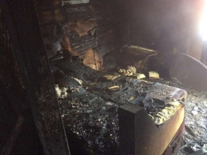 Пожар в четырехквартирном доме по улице Гоголя станции Красносёлка произошел вечер