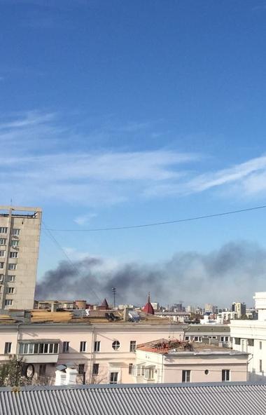 В Челябинске пожарные оперативно потушили возгорание Газели. Погибших и пострадавших нет.