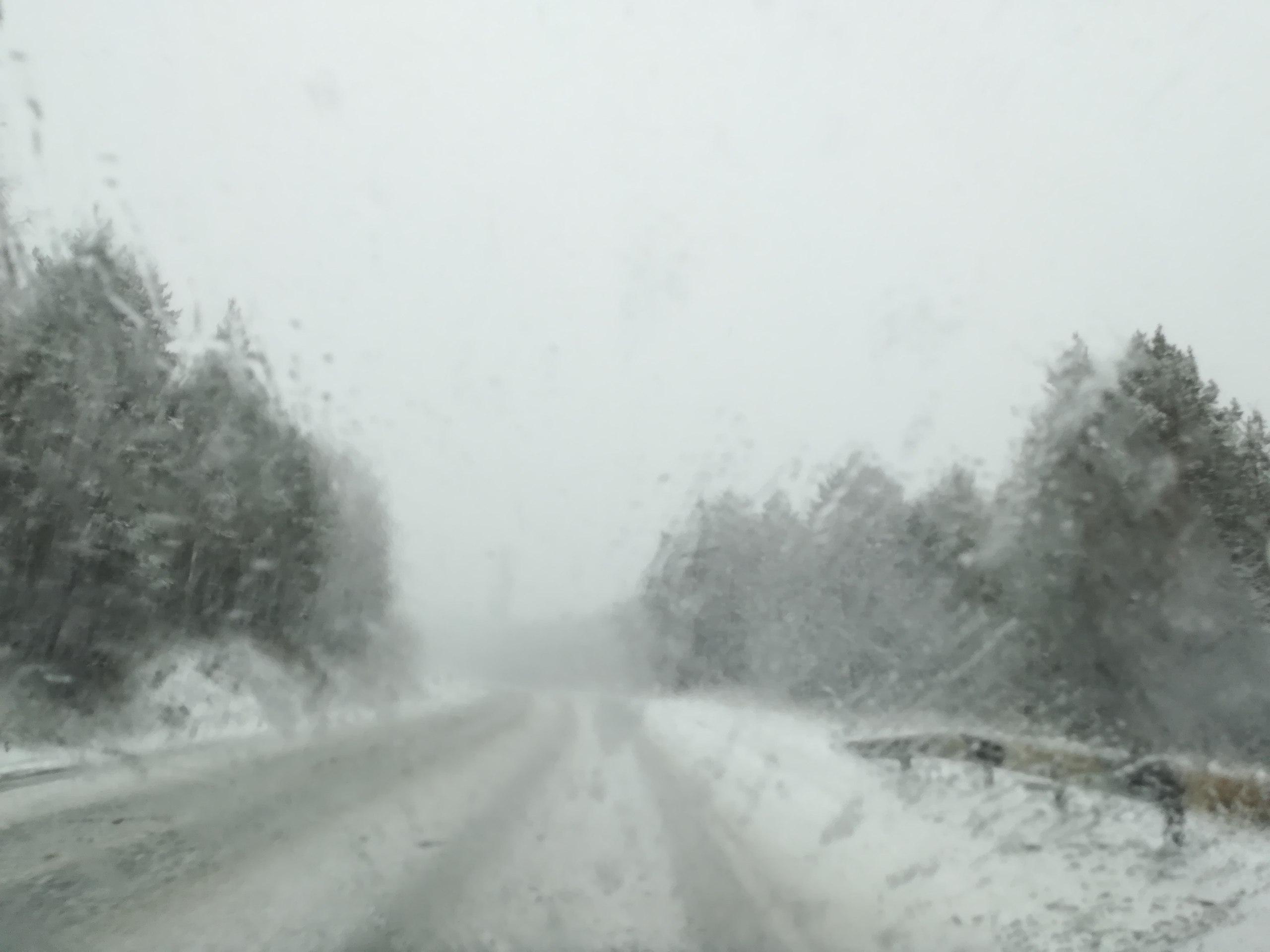 ДТП и снег привели к заторам на М-5 Дорожно-транспортное происшествие и выпавший снег прив