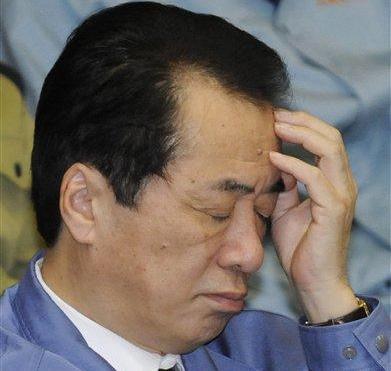 Наото Кан заявил в парламенте, что Япония сейчас активно борется с самой большой своей проблемой