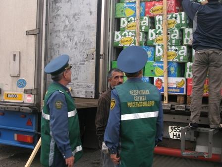 Свежие фрукты из Казахстана и Китая были задержаны инспекторами управления Россельхознадзора по Ч