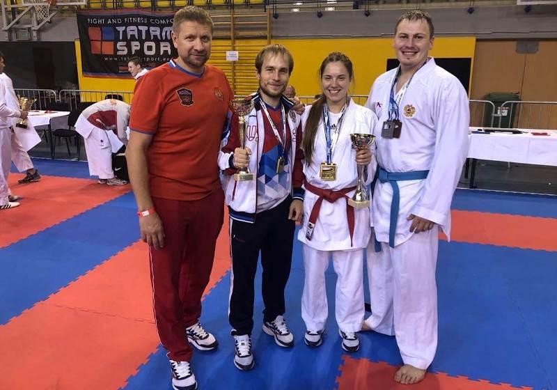 На завершившемся в Будапеште международном турнире по каратэ успешно выступила сборная России. В