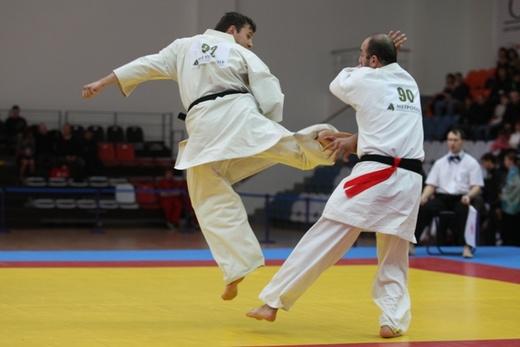 В состязаниях в бывшей столице Казахстана, помимо хозяев татами, выступили спортсмены из восьми с