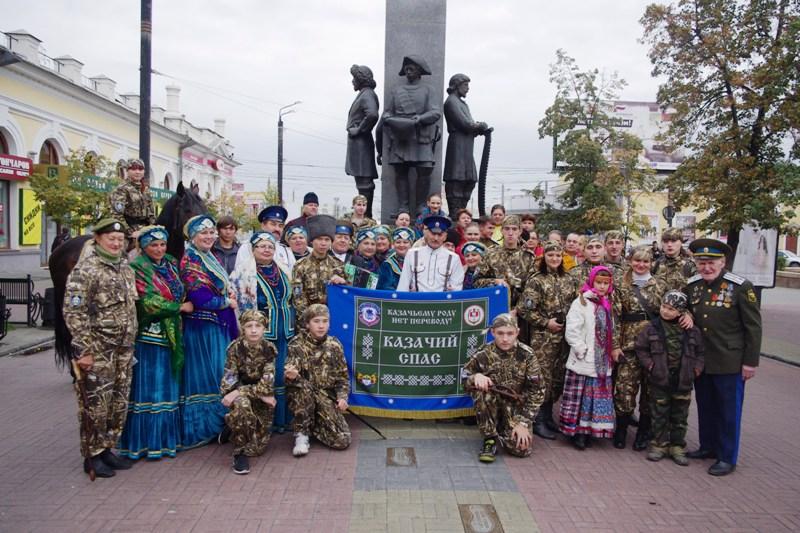 К «Казачьему спасу» в Челябинске присоединились творческие коллективы из Троицка и Верхнеуральска