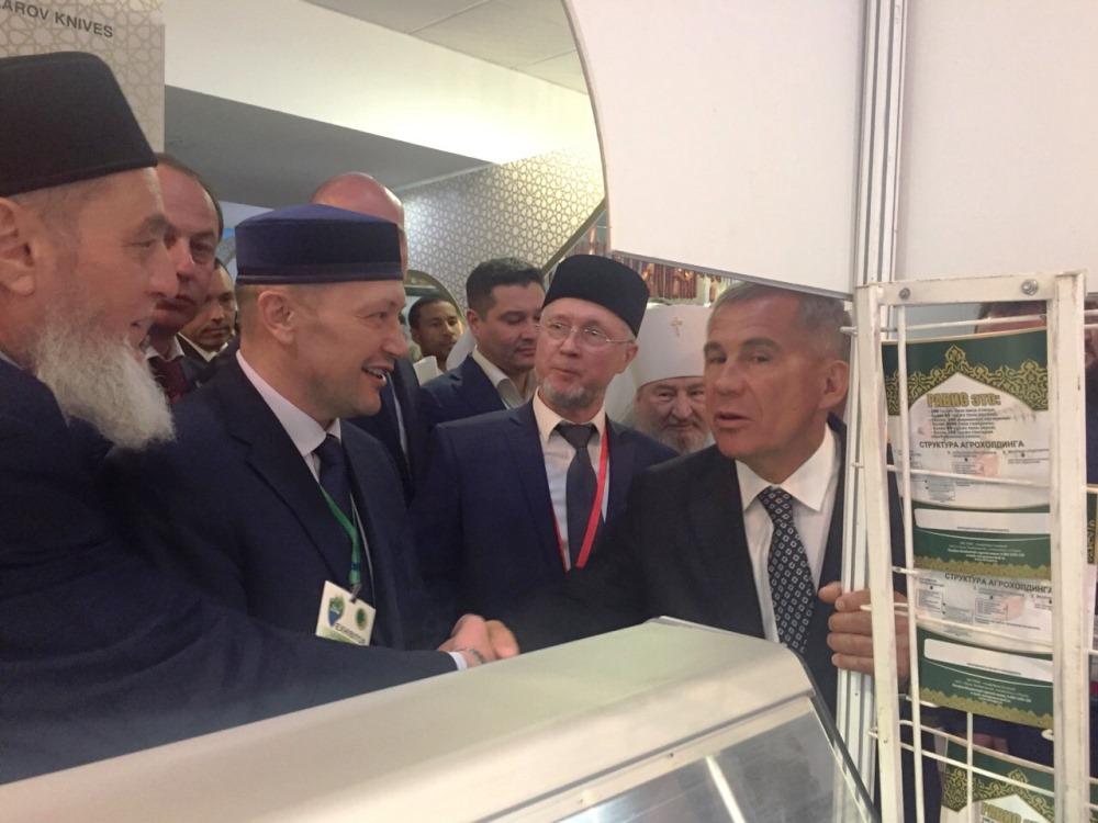 Компания «Равис» (Челябинская область) в рамках Международного экономического саммита приняла уча