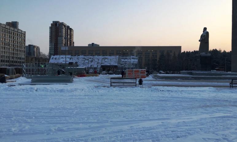 В Челябинске есть масса мест, где можно организовать ледовую площадку без нарушений границ объект