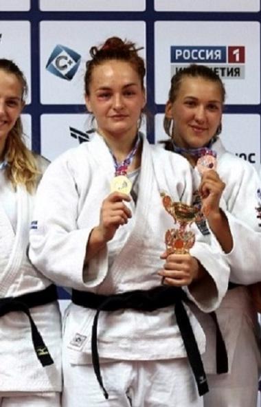 Челябинская спортсменка Таисия Киреева завоевала в Назрани титул чемпионки России по дзюдо, став