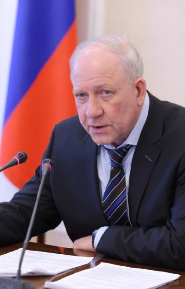 Заместитель губернатора Челябинской области – министр общественной безопасности Олег Клим