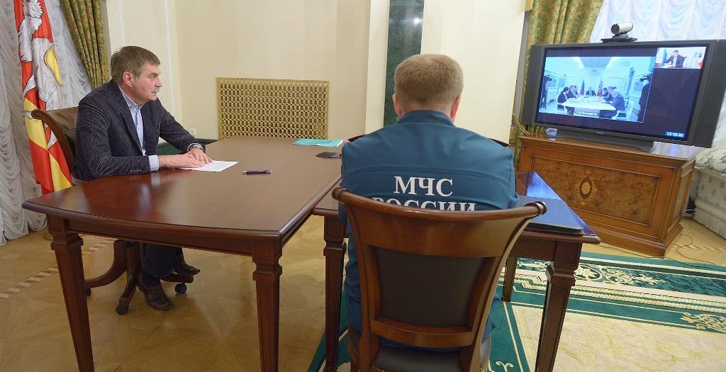 Сергей Комяков сообщил, что в ночь с 7 на 8 августа 2013 года в Челябинской области за сутки выпа