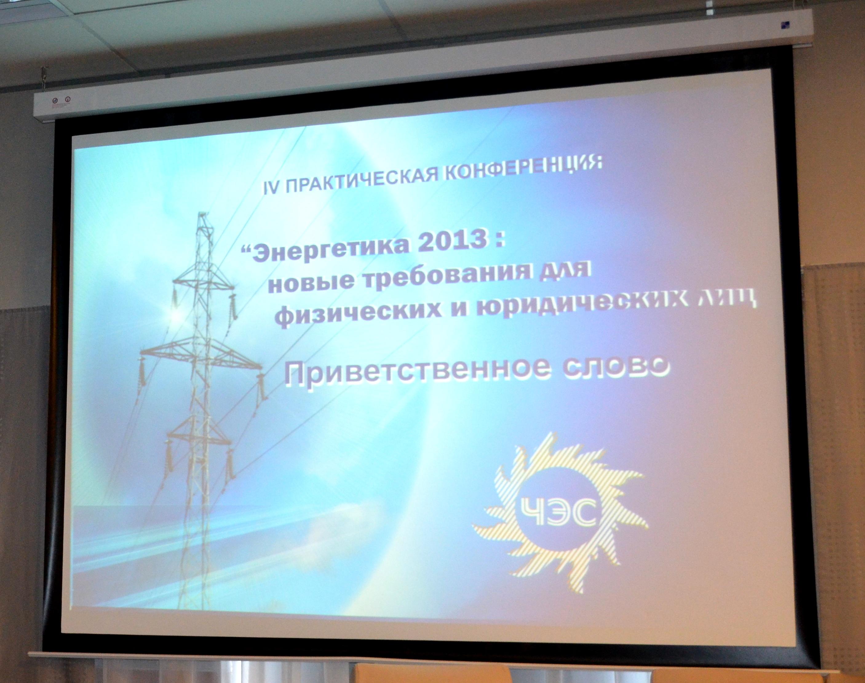 Конференция была организована ОАО «Челябэнергосбыт» при поддержке правительства Челябинской облас
