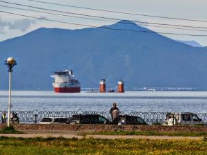 Как сообщает ЦВМП, в воскресенье утром китайское судно с