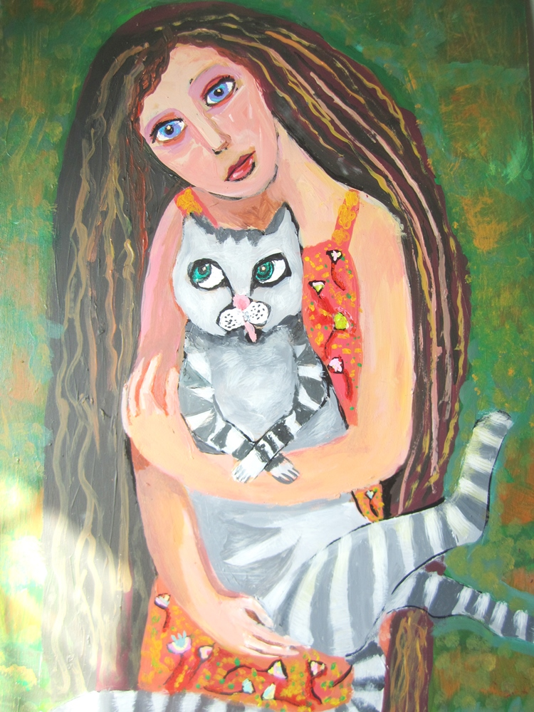 Выставка детских картин «Я обязуюсь любить» проводится впервые, она посвящена проблеме бездомных