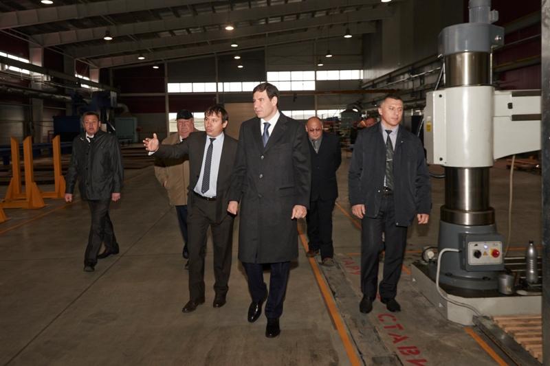 Накануне губернатор Михаил Юревич оценил перспективы, введенного в строй в сентябре завода «VERTA