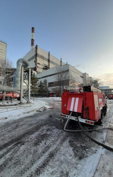 Во вторник, 3 декабря, около 5 часов утра в котло-турбинном цехе №3 Троицкой ГРЭС (Челябинская об