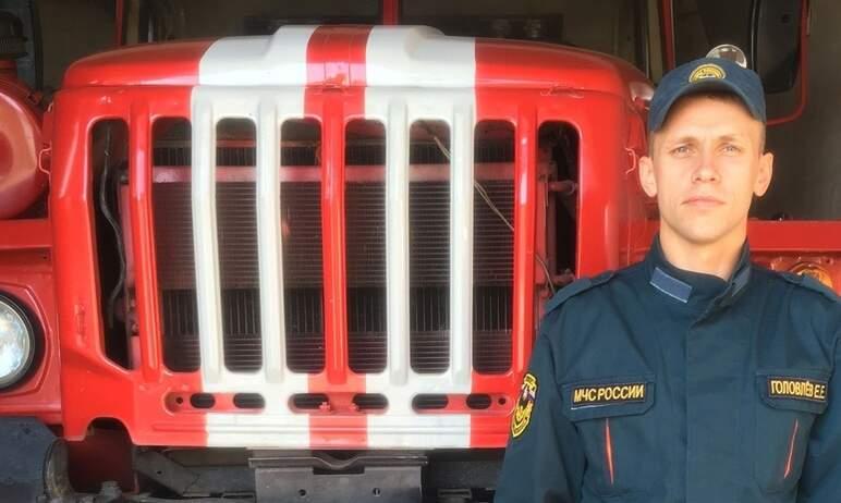 Пожарный из Челябинской области Евгений Головлев, сотрудник Копейского гарнизона, признан лучшим