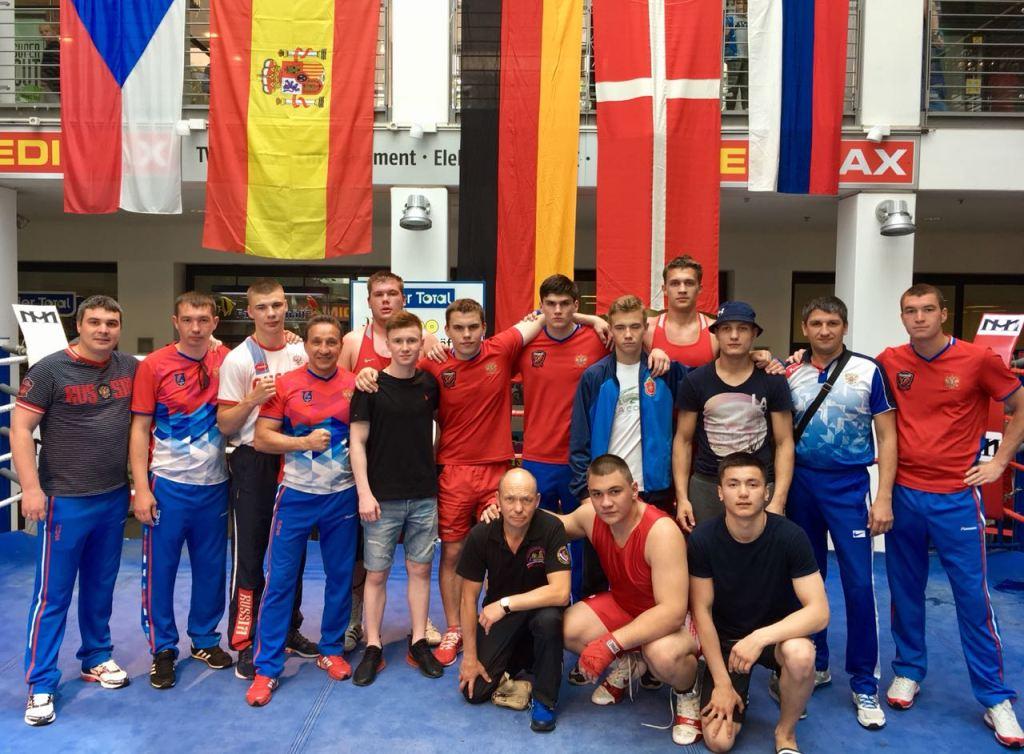 Челябинец Андрей Ламенских занял третье место на Кубке Бранденбурга по боксу среди юниоров в Герм
