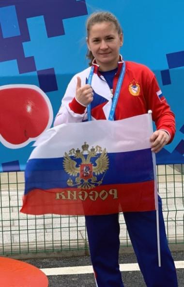 Челябинская спортсменка Александра Кулешова завоевала «бронзу» на VII летних Всемирных военных иг
