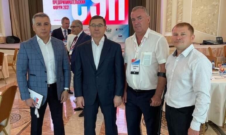 Председатель совета директоров «Национального парка спорта и туризма «Тургояк» Олег Сиротин соста
