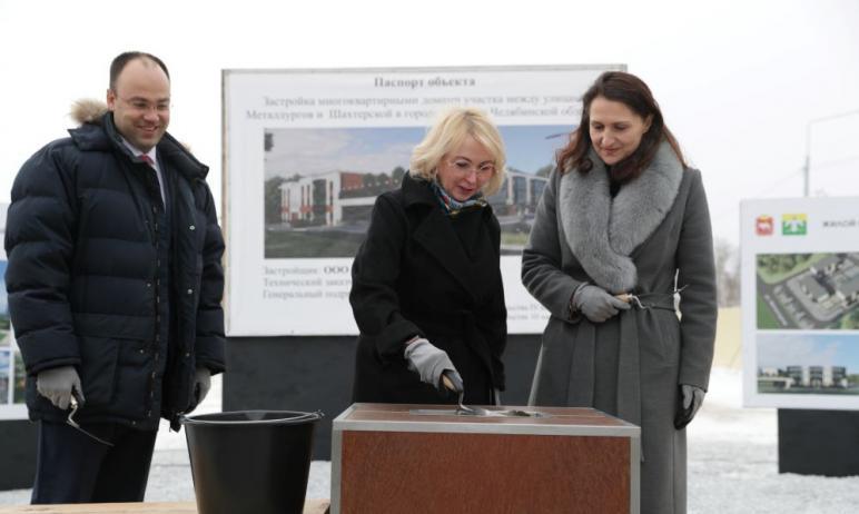 В Карабаше (Челябинская область) заложили современный жилой микрорайон и готовятся к открытию пос