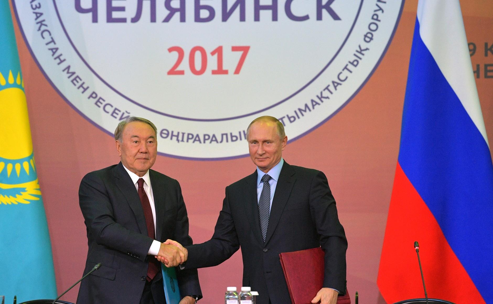 Об этом главы двух государств заявили 9 ноября на пленарной сессии ХIV Форума межрегионального со