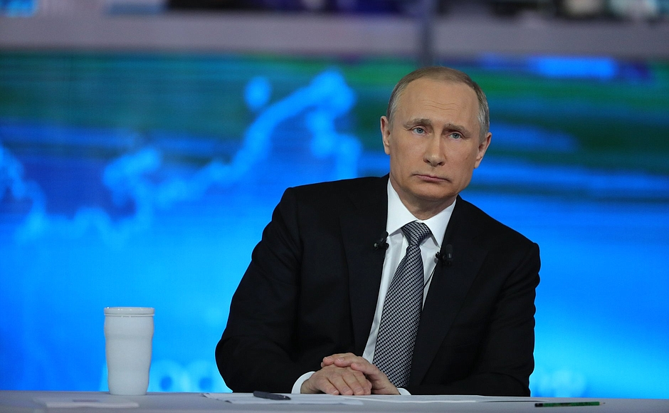 11-летняя Анжела спросила Путина, какие бы желания он загадал золотой рыбке. «Лучше не уповать на