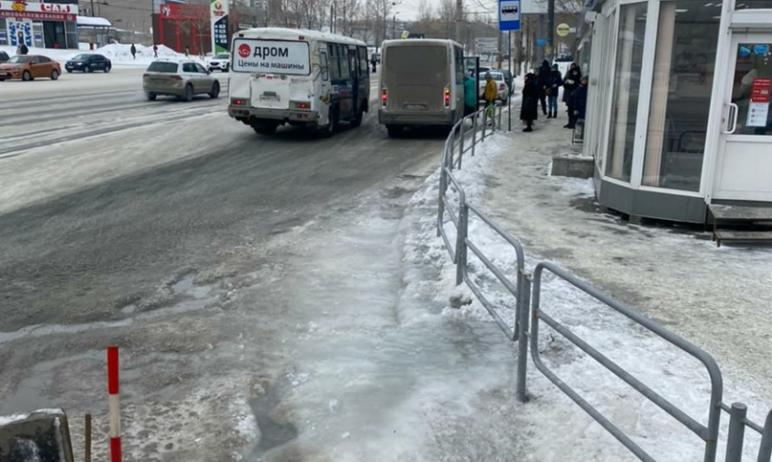 В Челябинске сегодня, 11-го февраля, в результате очередной коммунальной аварии произошел очередн