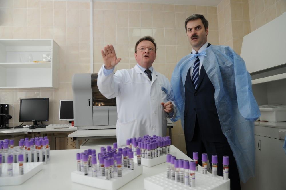 «На сегодняшний день данная лаборатория проводит исследования не только для своего прикреплен