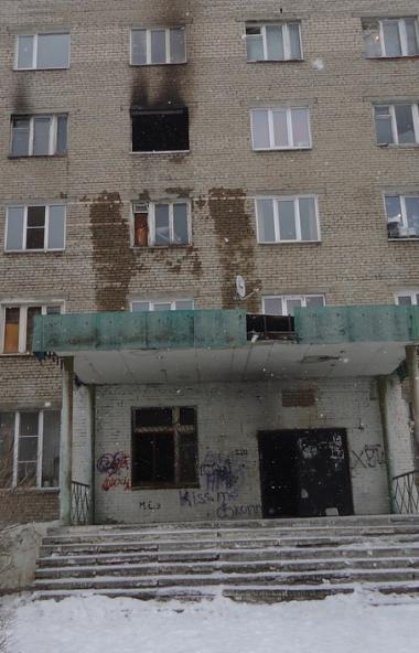 В Кыштыме (Челябинская область) в результате ночного пожара серьезно пострадал один человек. Боле