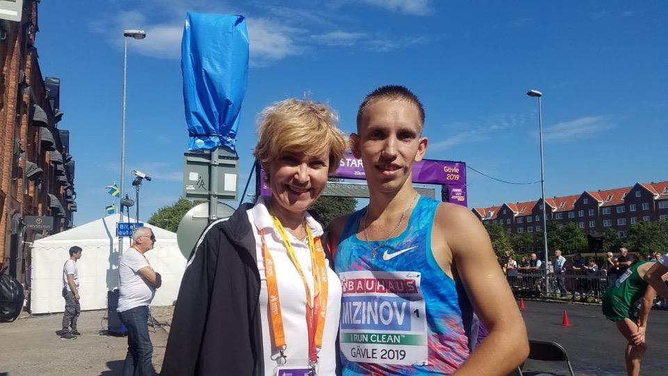 Василий Мизинов из Челябинска стал победителем первенства Европы по легкой атлетике среди молодеж