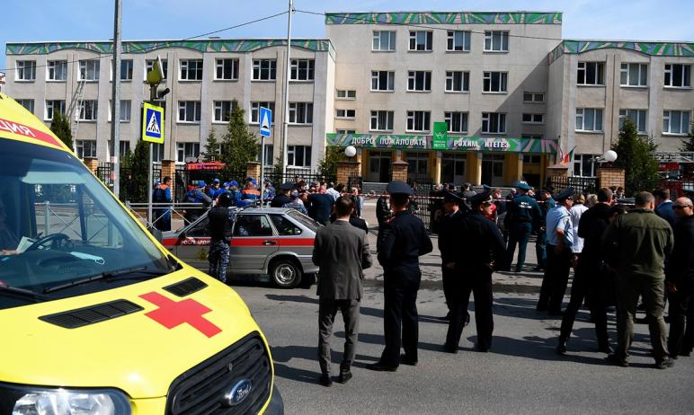 Во вторник, 11 мая, в Казани в гимназию №175 ворвались два человека, которые устроили стрельбу в
