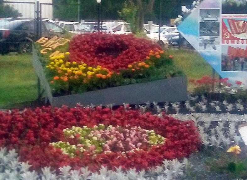 В Металлургическом районе Челябинска прямо из цветочной клумбы исчез Владимир Ильич Ленин.
