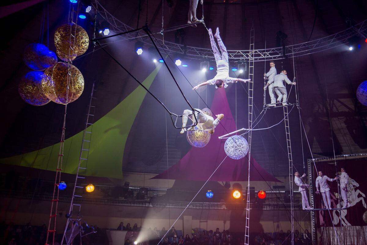 В челябинском цирке с 9 марта представлена новая Международная программа с участием артистов цирк