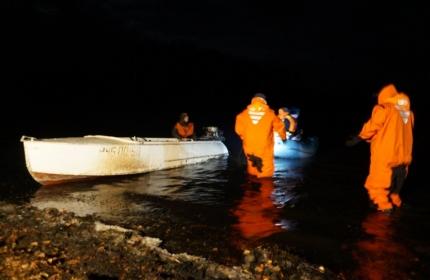 Трагедия разыгралась вечером 1 ноября. Все произошло в 500 метрах от берега. В услови