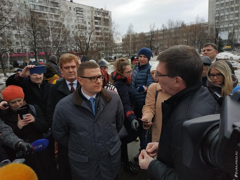 Первым пунктом ознакомительной поездки по Челябинску временно исполняющего обязанности губернатор