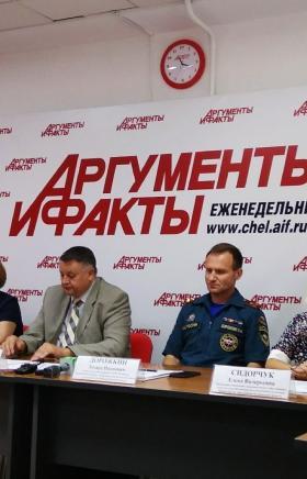 Сотрудники ГУ МЧС России по Челябинской области выходят на проверку палаточных лагерей региона в