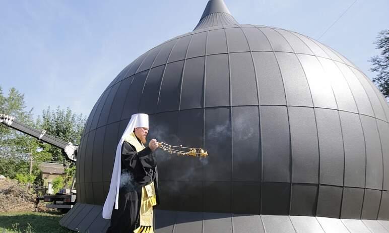 В Челябинске строящийся храм святителя Луки Крымского на территории городской больницы №6 в Метал