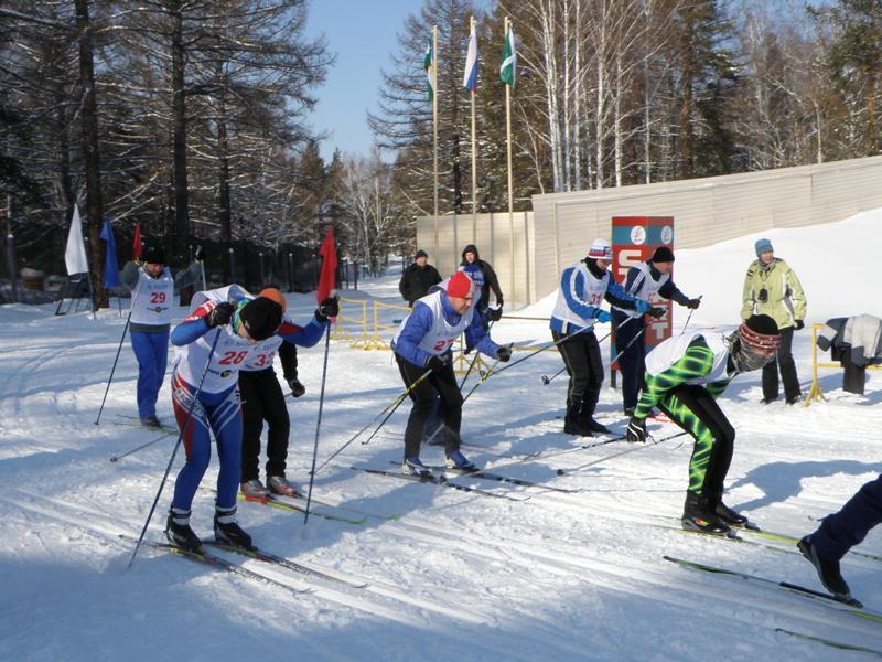 Лыжные гонки были проведены в рамках спартакиады управления 2011-го года. В соревнованиях приняли