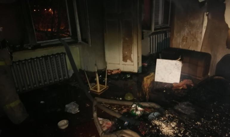 Очередной пожар из-за нарушения правил безопасности произошел 16 февраля в Ленинском районе Челяб