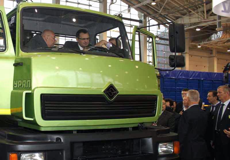 «Группа ГАЗ» представила на выставке, проходившей во Всероссийском выс