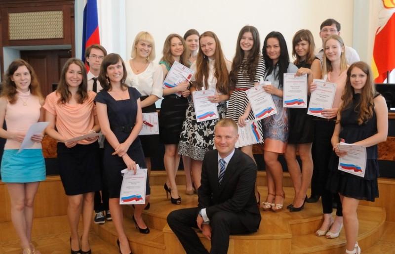 Накануне губернатор Михаил Юревич встретился с волонтерами Супер Финал