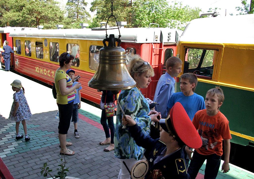 Челябинская Детская железная дорога открывает сезон летних перевозок восьмого мая. В летнем сезон