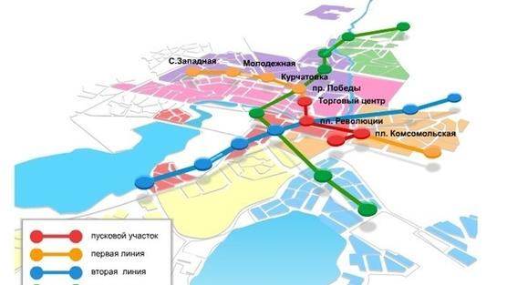 «Первый проект Челябинского метро появился еще в 1967 году. Поначалу предполагалось построить 2 в