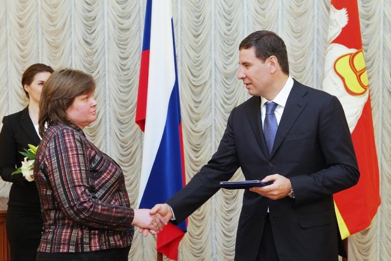Губернатора Михаил Юревич наградил знаками отличия Челябинской области