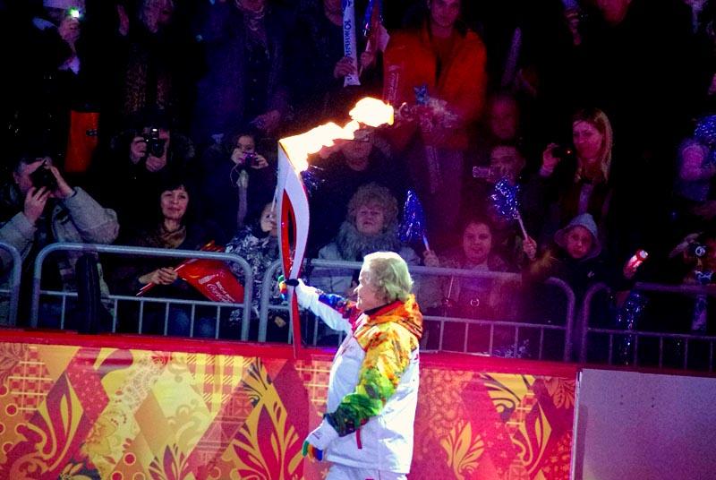 «Сегодня мы все участники самого торжественного дня будущих Олимпийски