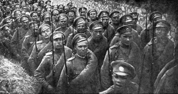 «По мнению многих людей, герои Первой мировой войны были необоснованно
