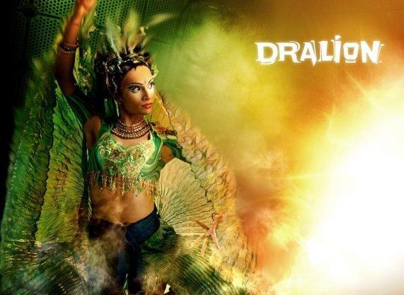 Шоу Dralion объединяет мировые исполнительские традиции, смешав стили и жанры, что так присуще Ci
